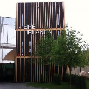 Pavillon Eire-Ireland Architecture à l'exposition universelle de Milan 2015