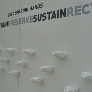 Seed-Sharing-Hands à l'exposition universelle de Milan 2015